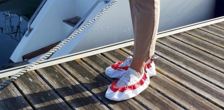 Copri scarpe antiscivolo da barca